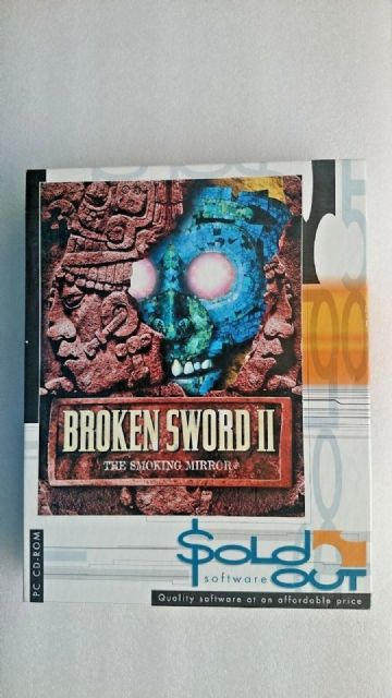 Broken Sword 2: The Smoking Mirror (PC: Windows, 1998) - Big Box Edition